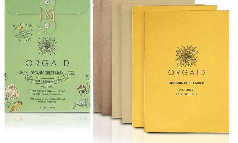 ORGAID Organic Sheet Mask Multi-pack (6 stk. / 2 av hver)