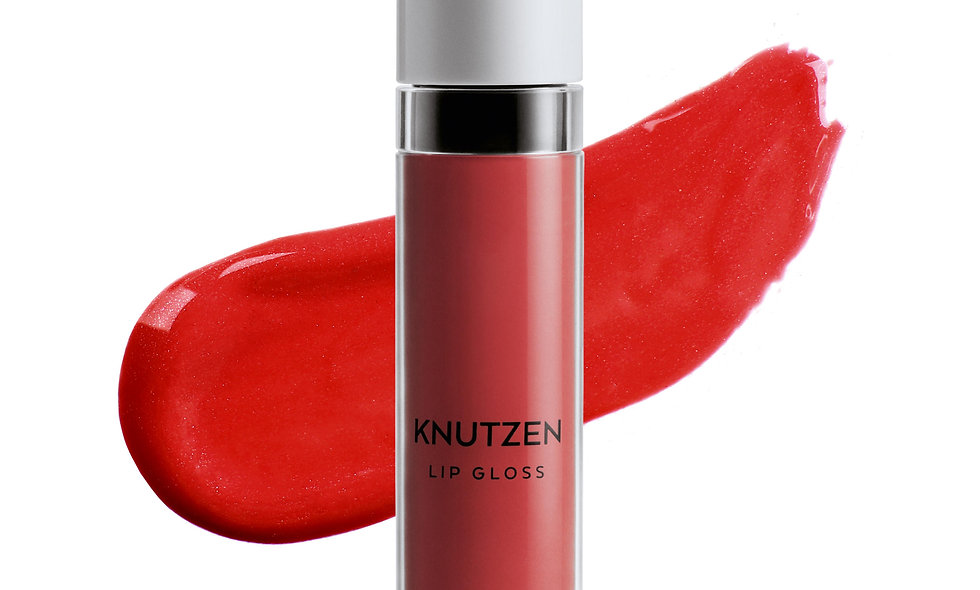 KNUTZEN Lip Gloss 4 Matte Sunrise Red
