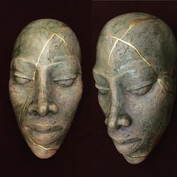 Mini mask (H 6in / 15cm)