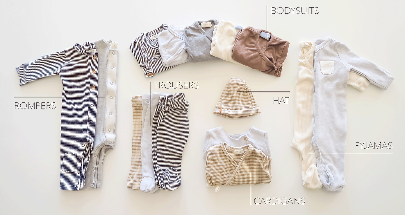 Rent organic baby clothes