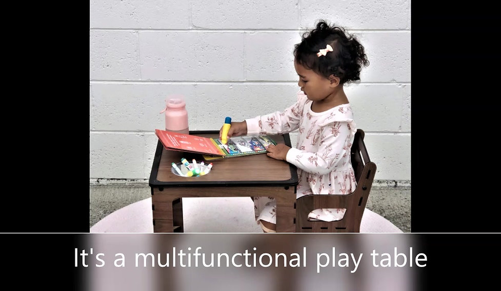 This video shows how Obevolv can transform into many different play activities.
