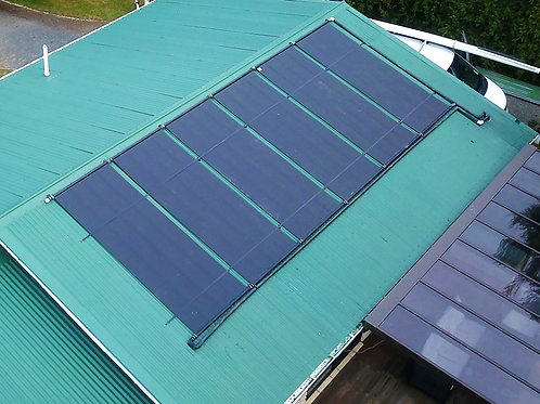 Techno Solis Panels for pool heating 3.05 x 1.22