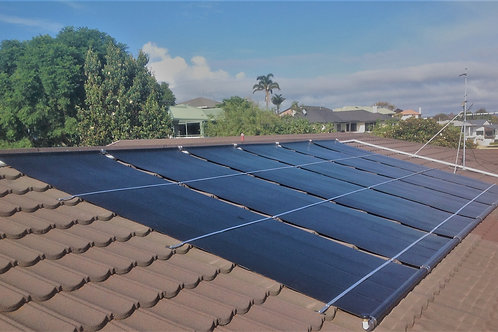 Techno Solis Panels for pool heating 2.44 x 1.22