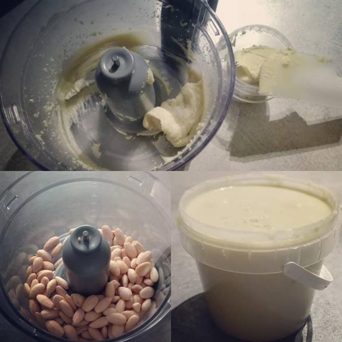 Crema di Mandorle Homemade