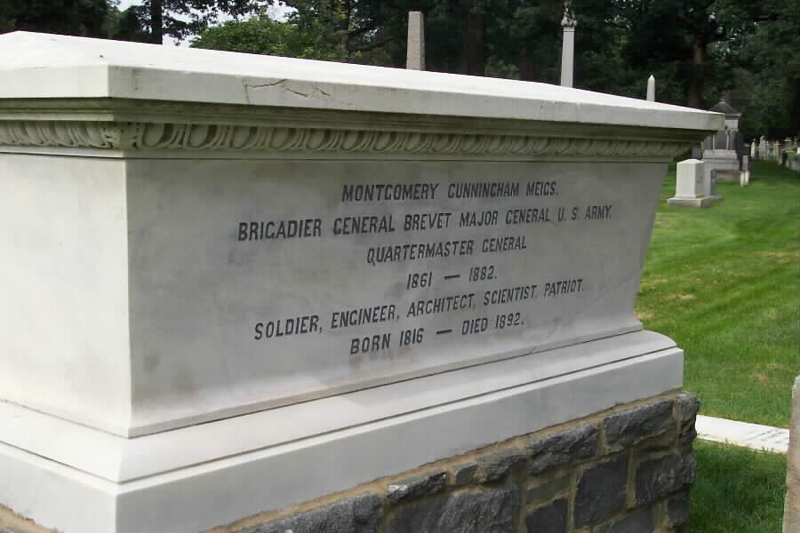Grave of Montgomery Meigs