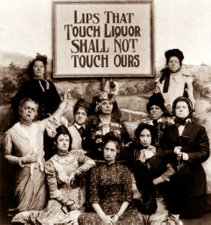 Members of the Women's Christian Temperance Union