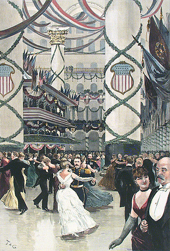 Inaugural Ball of President Cleveland