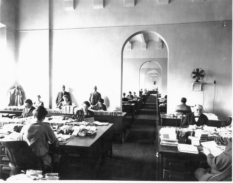Pension Bureau Office 1900