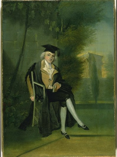 James Smithson at Pembroke College. Photo courtesy of Smithsonian Institution