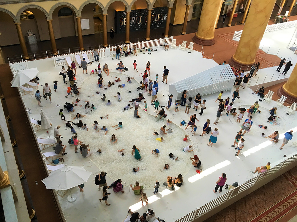 Fun House at the National Building Museum