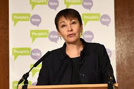 "Caroline Lucas's crackpot plan for an ""emergency female cabinet"""