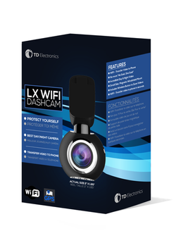 LX wifi 3d box front