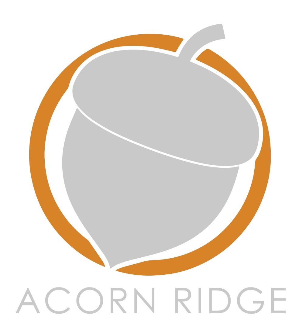 Acorn Ridge Logo white bg-01
