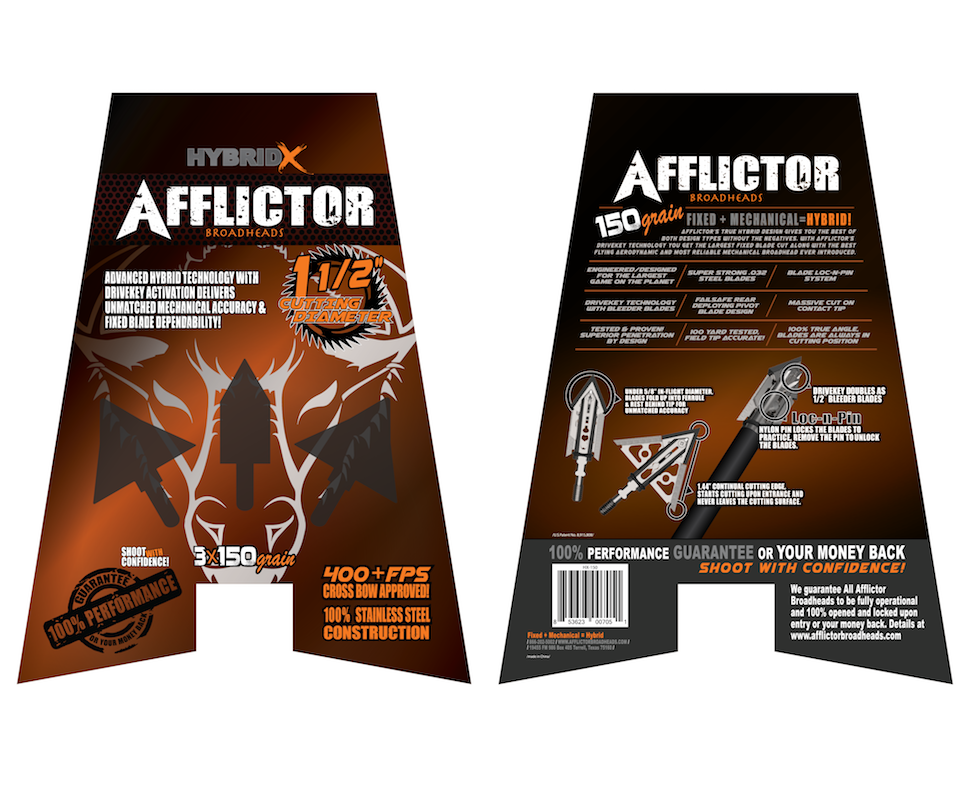 Afflictor Hybrid X together