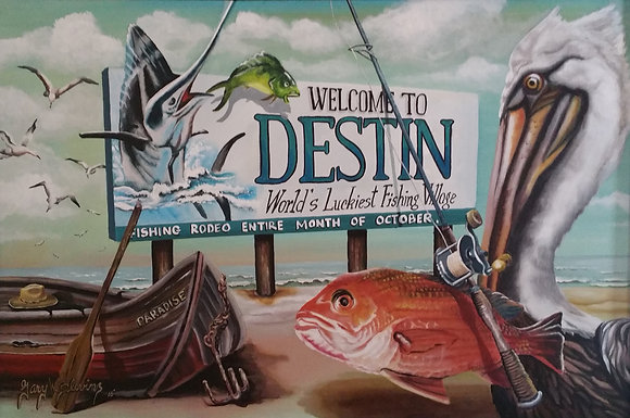 Destine Sign