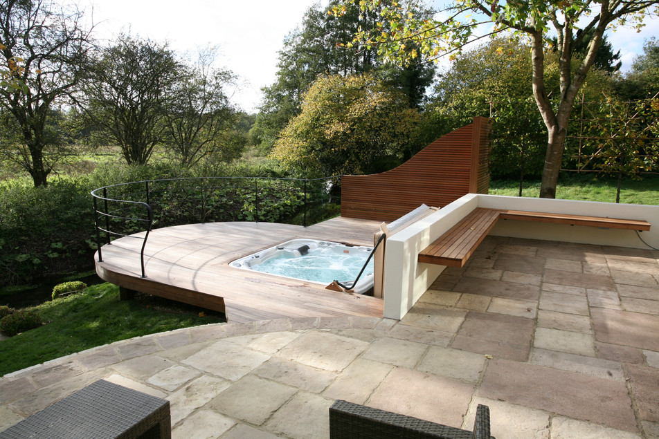 Garden designed & landscaped in norwich