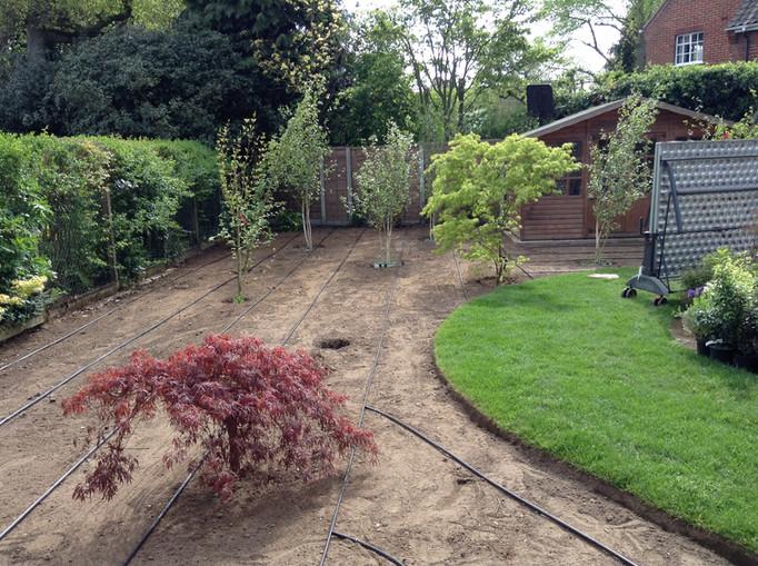 norfolk garden irrigation system installers
