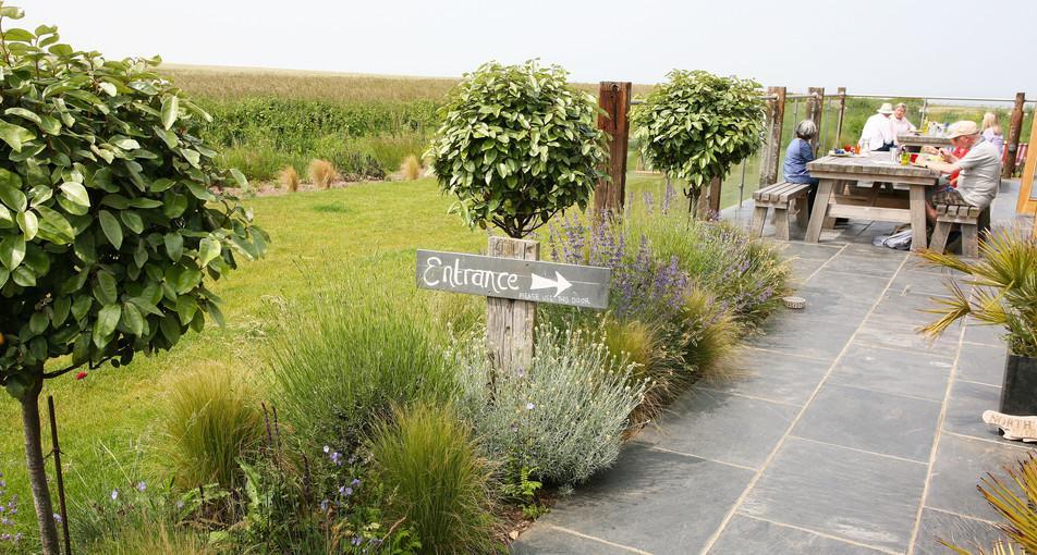 Garden design & landscaping in north norfolk