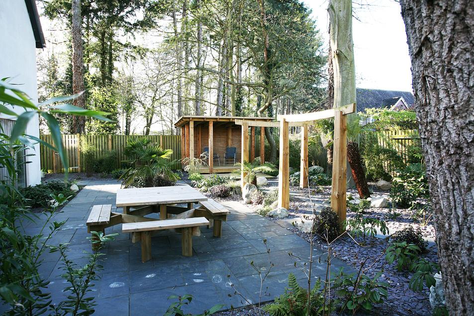 Garden landscaping in Drayton, norwich, norfolk