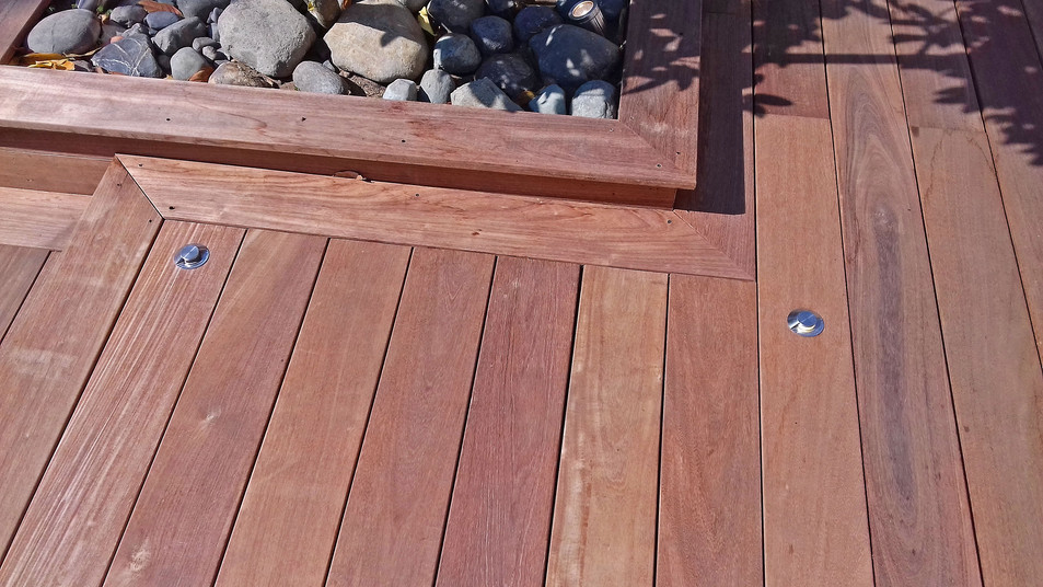 Fresh IPE Decking