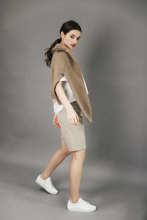 Безшовний светр ручної роботи з шерсті