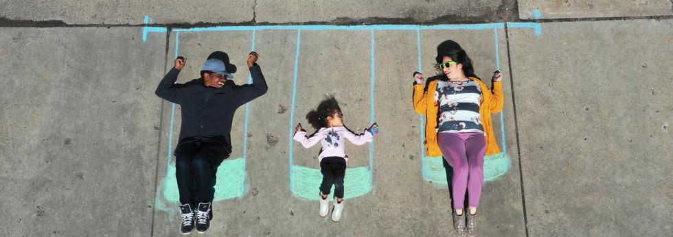 Drone Family Portraits
