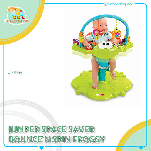 Space Saver Bounce 'n Spin Froggy - Fisher Price