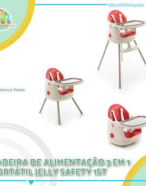 Cadeira de Alimentação 3 em 1  Jelly - Safety 1st