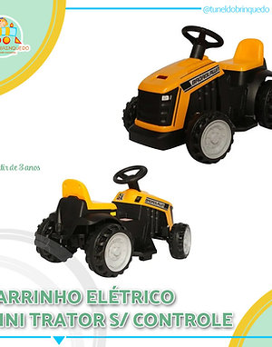 Mini Trator Elétrico
