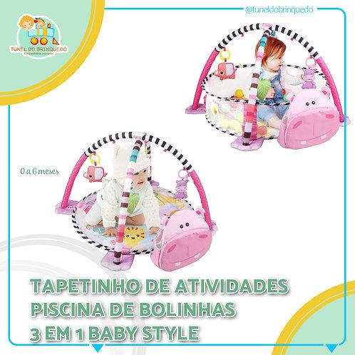 Tapetinho Piscina de Bolinha Unicórnio - Baby Style