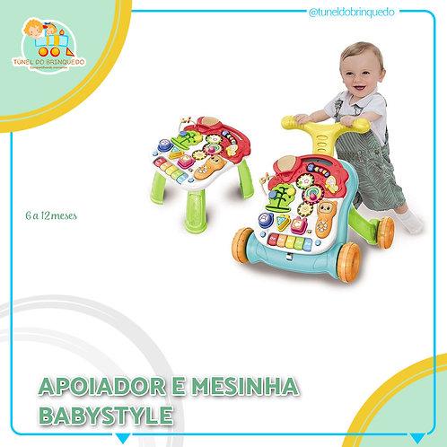 Apoiador e Mesinha 2 em 1 - Baby Style