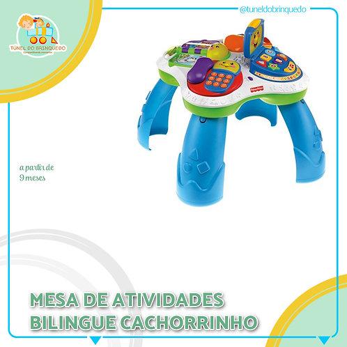 Mesinha de Atividade Bilingue Cachoarrinho - Fisher Price