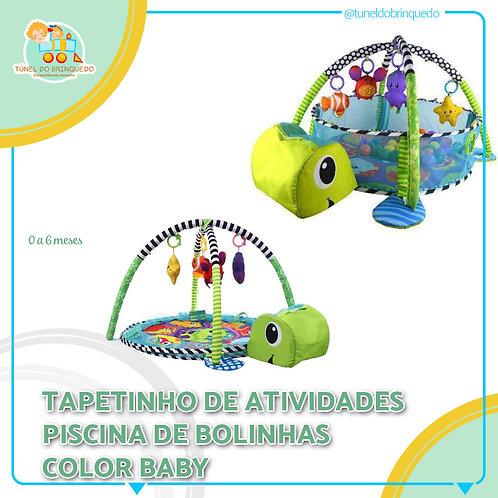 Tapetinho Piscina de Bolinhas Tartaruguinha - Baby Style