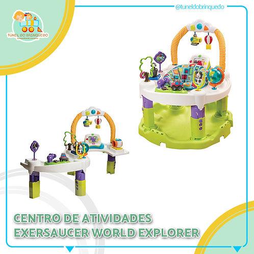Centro de Atividades Evenflo ExerSaucer World Explorer