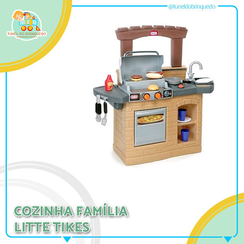 Cozinha e Churrasqueira - Little Tikes