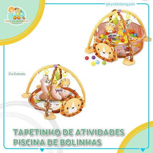 Tapetinho Piscina de Bolinhas Leão - Baby Style