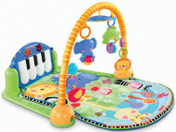 Tapete de atividades Deluxe Kick'n Play Piano Gym - Fisher Price