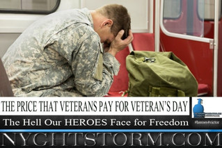 THE PRICE THAT VETERANS PAY FOR VETERAN'S DAY