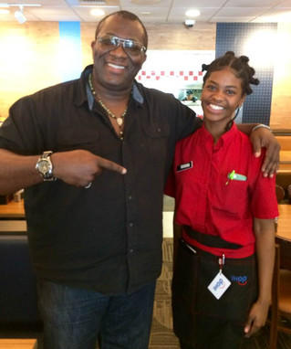GREAT PEOPLE DOING GREAT THINGS: BRYANA OF IHOP