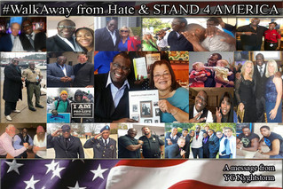 #WALKAWAY FROM HATE & STAND 4 AMERICA