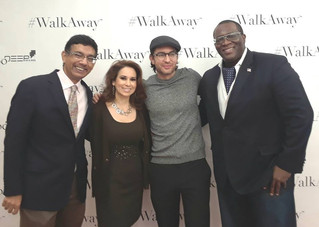 Dinesh D'souza, Brandon Straka & YG Nyghtstorm at #WalkAway Brunch