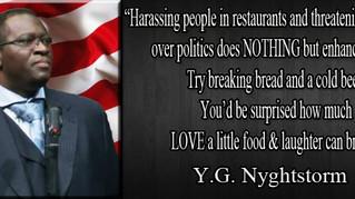 WEDNESDAY WISDOM: Harassing People in Restaurants...