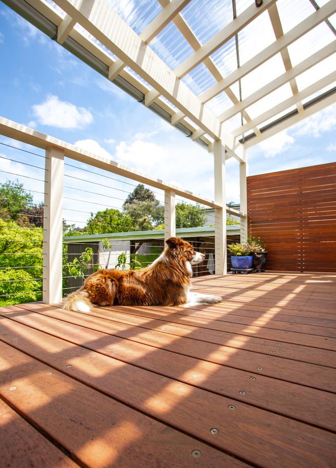 melbourne architectural renovation deck