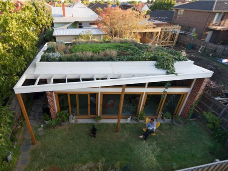 Energy efficient green roof nominated for architecture awards,