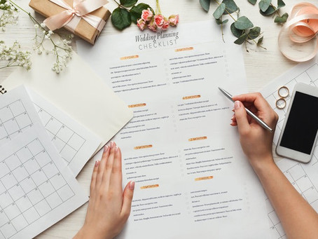 Your Post-Engagement Checklist – Where To Begin Once You're Engaged!