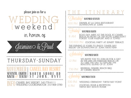 The Rise Of The Wedding Weekend