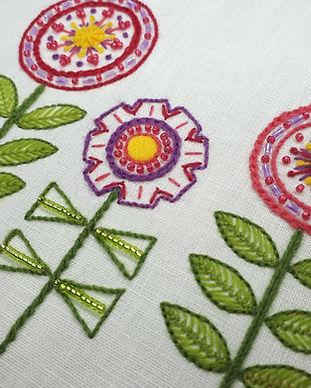 2 crewelwork flowers Kate Barlow.jpg