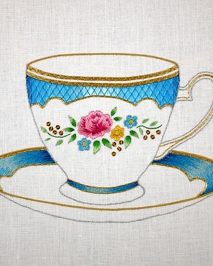 Kate Barlow. Little gilded teacup.JPG