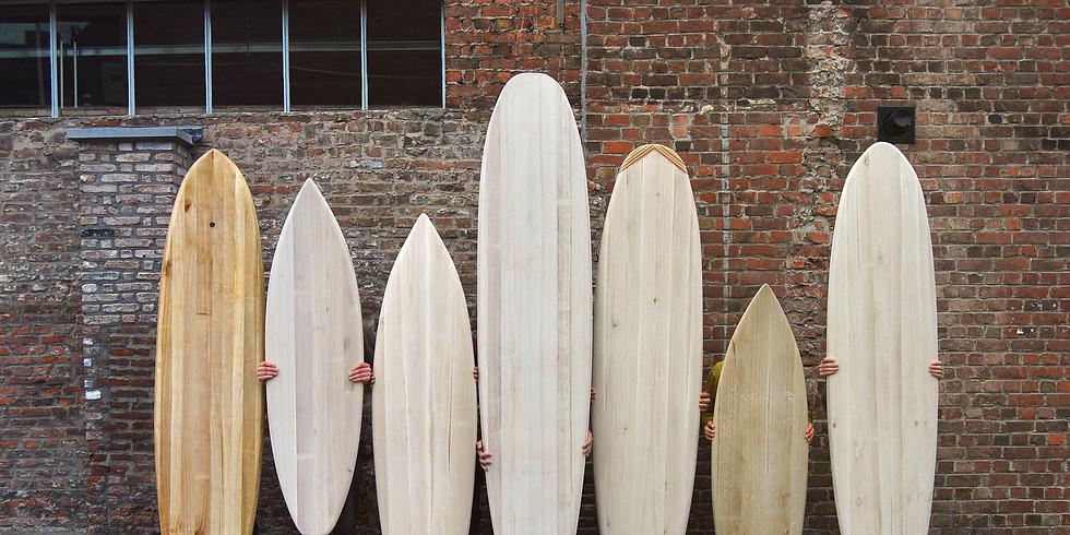 WORKSHOP 'Maak je eigen surfboard' voorjaar 2018
