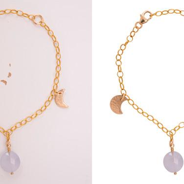 Cut out of complex chains and pendants/bracelets